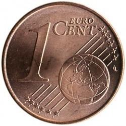 Монета > 1євроцент, 2013 - Німеччина  - reverse