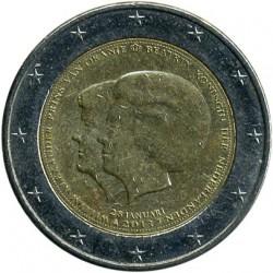 Moneta > 2euro, 2013 - Paesi Bassi  (Abdicazione della regina Beatrice dei Paesi Bassi in favore del figlio Guglielmo Alessandro ) - obverse