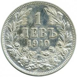 Coin > 1lev, 1910 - Bulgaria  - reverse