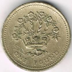 Moneta > 1svaras, 1986-1991 - Jungtinė Karalystė  - reverse