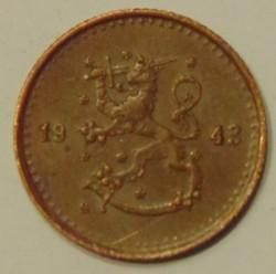 Münze > 25Penny, 1943 - Finnland  - obverse