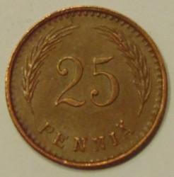 Moneta > 25penniä, 1940-1943 - Finlandia  - reverse