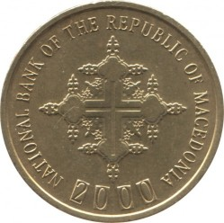 Moneda > 1denar, 2000 - Macedonia  - obverse