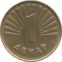 Moneda > 1denar, 2000 - Macedonia  - reverse