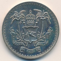 Moneda > 1dollar, 1970 - Fiji  (Independència de Fiji) - obverse
