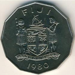 Moneta > 50centesimi, 1980 - Figi  (10° anniversario dell'indipendenza) - obverse