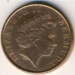Pièce > 1cent, 1999-2008 - Bermudes  - obverse