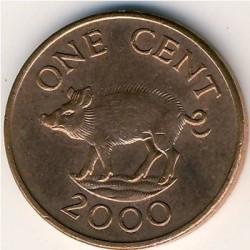 Pièce > 1cent, 1999-2008 - Bermudes  - reverse