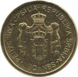 Νόμισμα > 2Δηνάρια, 2011-2016 - Σερβία  - obverse