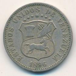 Coin > 12½céntimos, 1896-1938 - Venezuela  - obverse