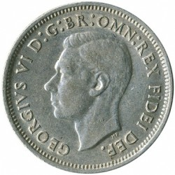 Moneda > 1chelín, 1950-1952 - Australia  - obverse