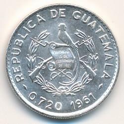 Moneta > 10centavos, 1960-1964 - Guatemala  - obverse