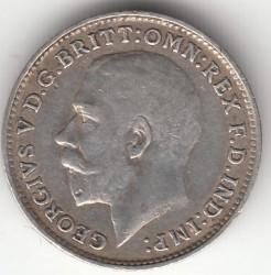 Moeda > 3pence, 1911-1919 - Reino Unido  - obverse