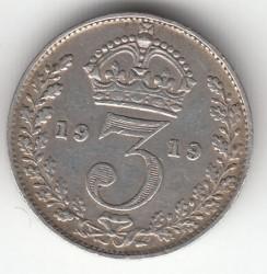 Moeda > 3pence, 1911-1919 - Reino Unido  - reverse