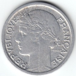 Coin > 1 franc, 1945 - France  - reverse