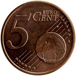 Монета > 5центів, 1999-2018 - Франція  - reverse