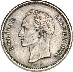 Монета > ⅕боливар, 1879 - Венецуела  - reverse
