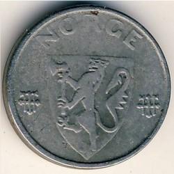Moneda > 1öre, 1941-1945 - Noruega  - obverse