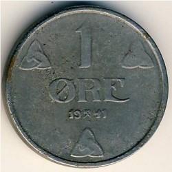 Moneda > 1öre, 1941-1945 - Noruega  - reverse