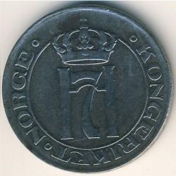 Moneda > 5ore, 1917-1920 - Noruega  - obverse
