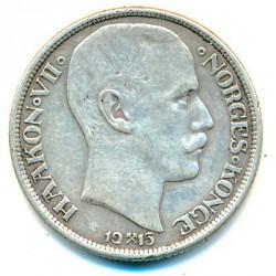 Moneda > 1krone, 1908-1917 - Noruega  - obverse
