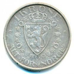 Moneda > 1krone, 1908-1917 - Noruega  - reverse