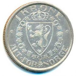 Moneda > 1corona, 1908-1917 - Noruega  - reverse