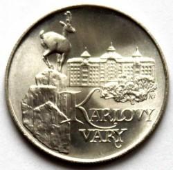 Moneta > 50corone, 1991 - Cecoslovacchia  (Karlovy Vary) - reverse