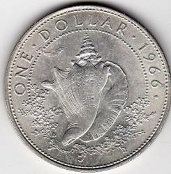 Münze > 1Dollar, 1966-1970 - Bahamas  - reverse