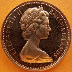 Монета > 1цент, 1970 - Багамські острови  - obverse