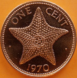 Монета > 1цент, 1970 - Багамські острови  - reverse