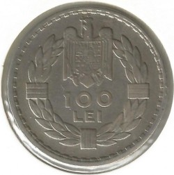 Moneta > 100lėjų, 1932 - Rumunija  - obverse