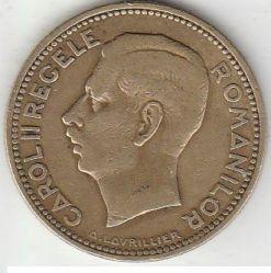 Moneda > 20lei, 1930 - Rumanía  (Portrait of Carol II) - reverse