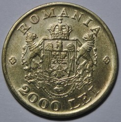 Munt > 2000lei, 1946 - Roemenië  - obverse