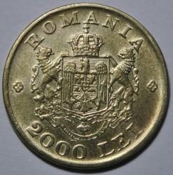 Munt > 2000lei, 1946 - Roemenië  - reverse