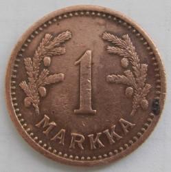 Münze > 1Mark, 1941 - Finnland  - reverse