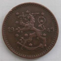 Moneta > 1markka, 1940-1951 - Finlandia  - obverse