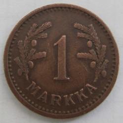 Moneta > 1markka, 1940-1951 - Finlandia  - reverse
