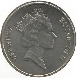 Moneta > 1dolar, 1985 - Bermudy  (Rejsy turystyczne promem) - obverse