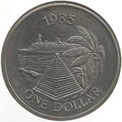 Moneta > 1dolar, 1985 - Bermudy  (Rejsy turystyczne promem) - reverse