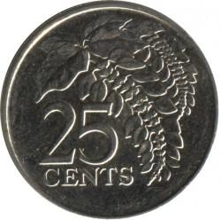 Mynt > 25cents, 1976-2016 - Trinidad og Tobago  - reverse