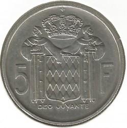 Moneta > 5frankai, 1960-1966 - Monakas  - reverse