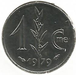 Monedă > 1centimă, 1976-1995 - Monaco  - obverse