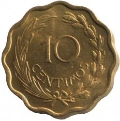 Монета > 10сентимос, 1953 - Парагвай  - reverse