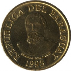 Coin > 100guaranies, 1993-2005 - Paraguay  - obverse