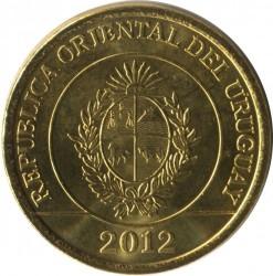 Moneta > 2pesos, 2011-2014 - Urugwaj  - obverse