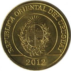 سکه > 1پزو, 2011-2012 - اروگوئه  - obverse