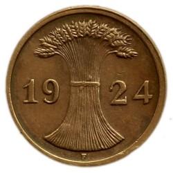 Moneda > 2rentenpfennig, 1923-1924 - Alemania  - obverse
