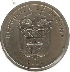 Монета > 5сентесимо, 2001-2018 - Панама  - obverse