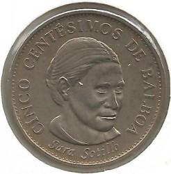 Монета > 5сентесимо, 2001-2018 - Панама  - reverse